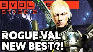 ROGUE VAL DESTROYS!! STAGE TWO GAMEPLAY!! Evolve Gameplay Walkthrough - Hunt (PC 1080p 60fps)