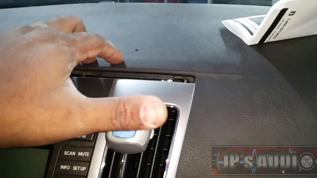 2009 Hyundai Sonata Radio Removal Install Youtube Visteon Wiring Harness