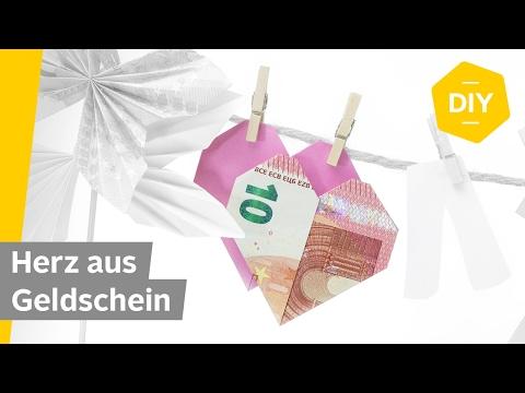 Geldscheine Falten 10 Anleitungen Für Geldgeschenke Otto