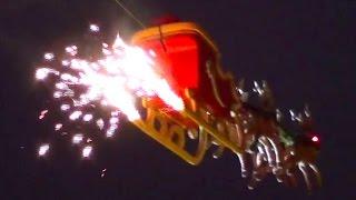 Flying Real Santa with Reindeers & Jetpack Xmas at Christmas Market thumbnail