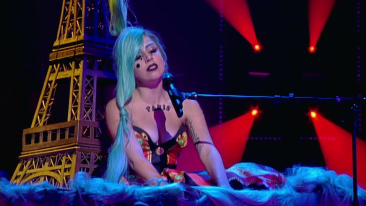 Lady Gaga - Hair Live at Taratata (July 2nd 2011)