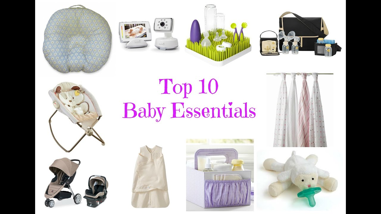 top 10 things every new mom needs for newborn baby youtube. Black Bedroom Furniture Sets. Home Design Ideas