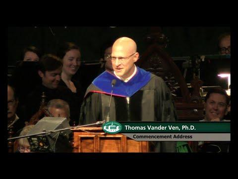 2015 Ohio University Graduate Commencement Ceremony