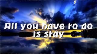 Zedd, Alessia Cara- Stay (lyrics video)