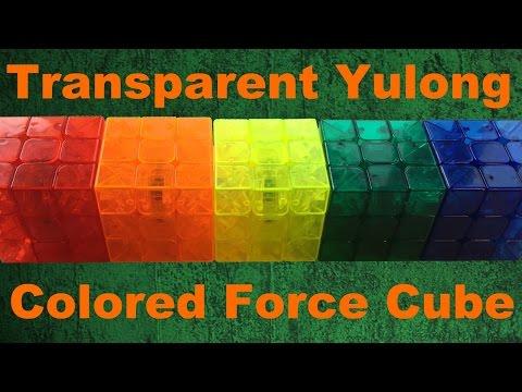 Making Transparent YuLong Force Cubes - Time Lapse [200 Videos!]