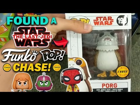 Found ANOTHER CHASE! (Star Wars Porg) Funko Pop Hunt