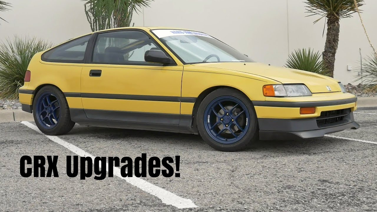 small resolution of my 1988 crx si build tein coilovers ebay lip and enkei wheels