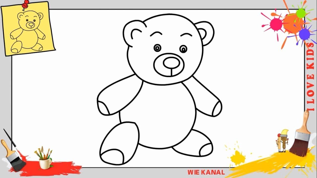Teddybär Zeichnung