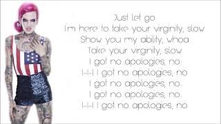 Repeat youtube video Jeffree Star - Virginity (Lyrics)