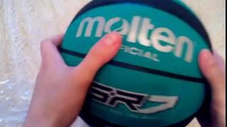 Распаковка баскетбольного мяча Molten BGR7 из Rozetka.com.ua