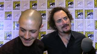 "Kim Coates ""Tig"" & Theo Rossi ""Juice"" talk Sons of Anarchy Season 7"