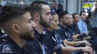 El alcalde de Almería inaugura el curso de Policía Local donde se formarán 12 agentes