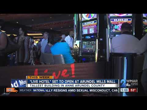 Live Hotel Set To Open In Arudel Mills Mall