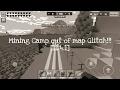 """Mining Camp out of map glitch [11.4.1] """"Pixel gun 3D"""
