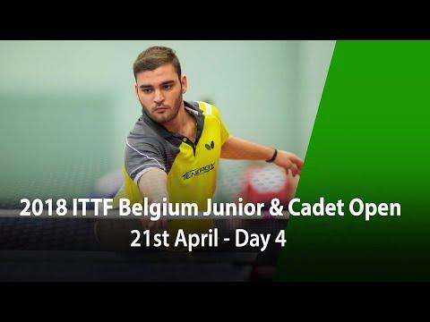 2018 Belgium Junior & Cadet Open - Day 4