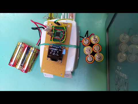 Vaisala RS92-SGP radiosonde decoder with STM32 - YouTube