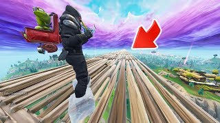 World Record Longest Freeze Trap Slide in FORTNITE!
