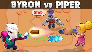 🎯BYRON vs PIPER🎯1vs1🎯29 Test