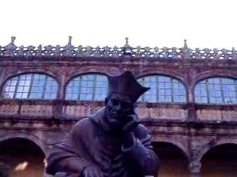 University courtyard at Santiago de Compostela
