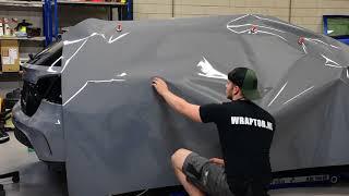 Wraptor - Mercedes GLA45 AMG Nardo Grey Wrap!