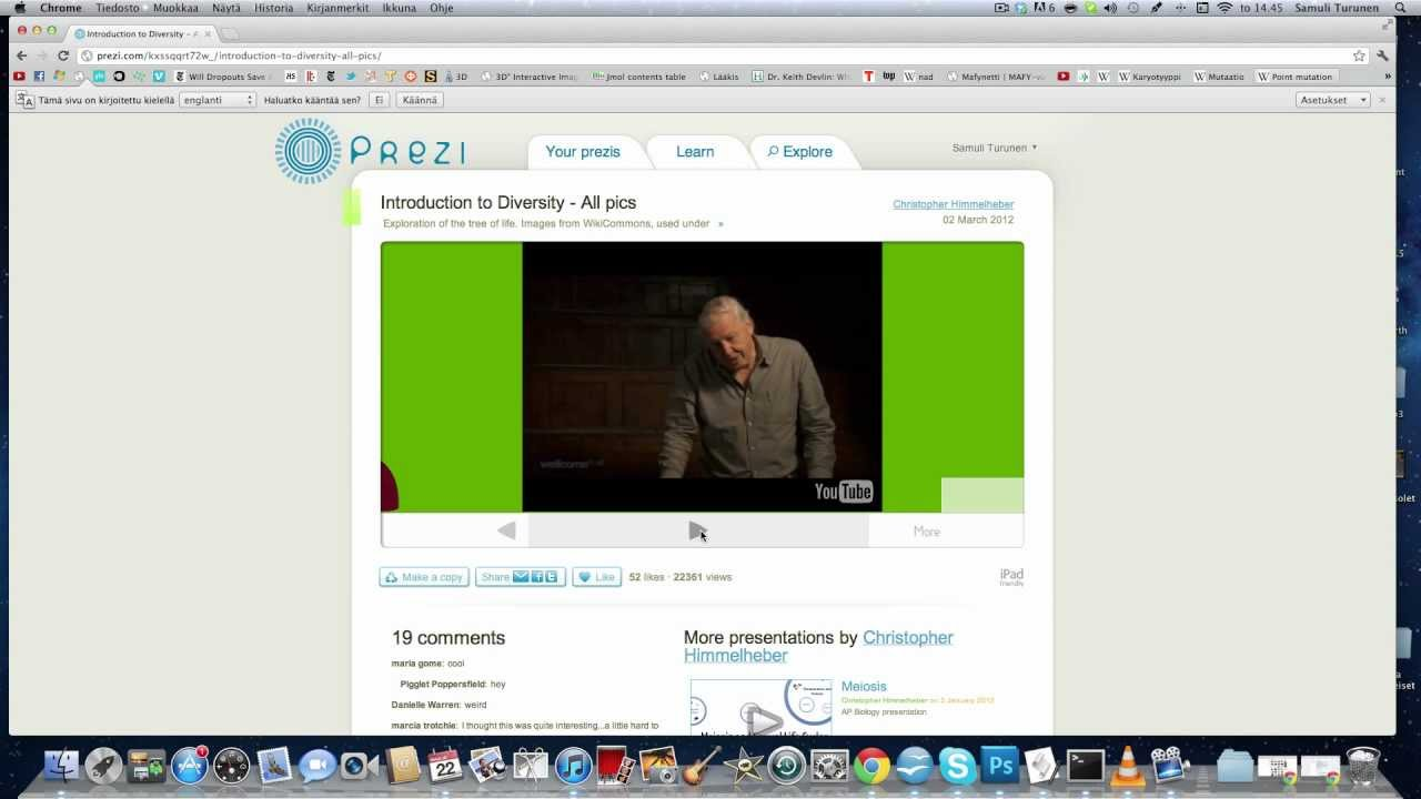 how to add music to a prezi