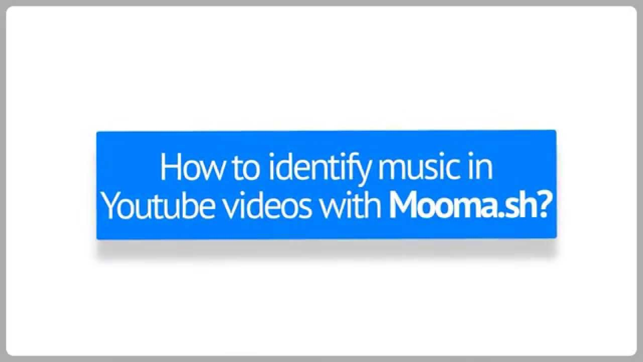 How To Identify Music In Youtube Videos Youtube