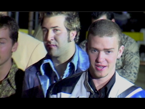 'N SYNC Attends 'Bigger Than Live' Premiere - 2001