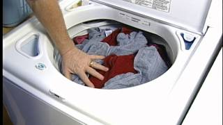How to Avoid Lint on Clothes from Your Washing Machine: Top Load Washer Video by Sears Home Services