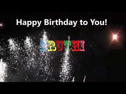 Happy Birthday Sruthi