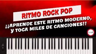 Curso De Piano - Musica Cristiana- Clase 12 Ritmo Rock Pop
