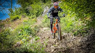 Riding the backyard trails in Chaumont Neuchâtel CH 2020