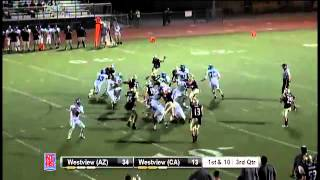 Westview (AZ) #38 Jalen Johnson 41 yard rushing TD