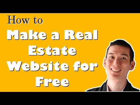 How to Make a Real Estate Website for FREE with No Coding/Technical Knowledge in 10 minutes