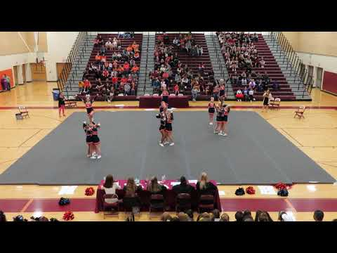 North Stafford High School JV at Mountain View Cheer Competition 2019
