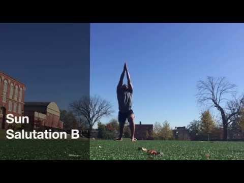 Sun Salutations with Brandon Copeland - Khepera Wellness Online