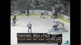hartford wolfpack 2000 calder cup victory game