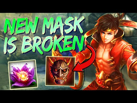 Ne Zha: THE NEW MASK AND PASSIVE IS BROKEN. 2400 CRITS! - Smite