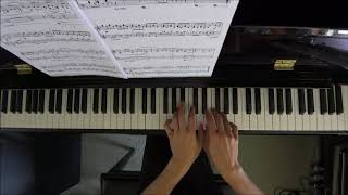 AMEB Piano Series 18 Grade 6 D1 Benjamin Silent and Soft and Slow Descends the Snow by Alan