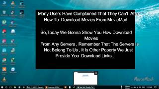 How To Download Files From Indishare , Bdupload,uptobox,9xupload,clicknupload Servers From MovieMad