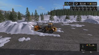 Farming simulator 17 snow plowing ups in preparation for cyber Monday