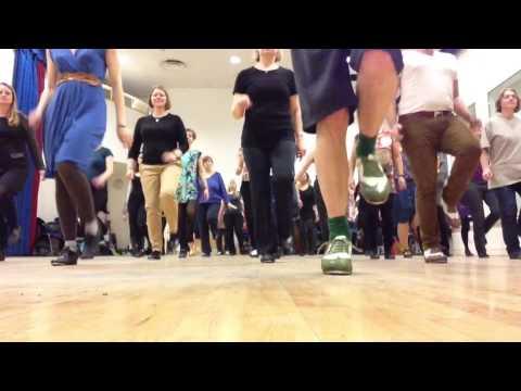Drury Lane Tap Dance - Warm up 2014