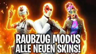 RAUBZUG MODUS! ALLE NEUEN SKINS! 💎 | Fortnite: Battle Royale