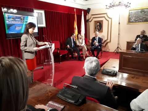 Ábalos visita Lugo para presentar la estación intermodal