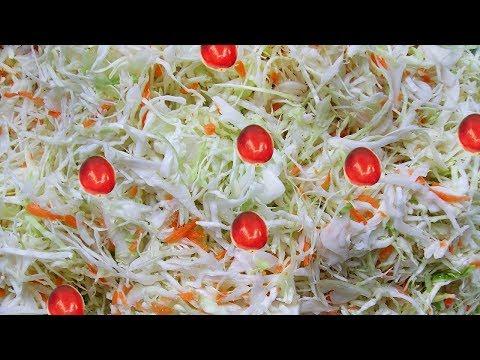 Как засолить капусту с клюквой