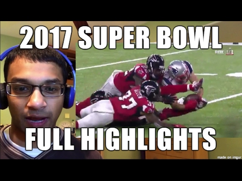 Super Bowl 51 FULL GAME: New England Patriots vs. Atlanta ...