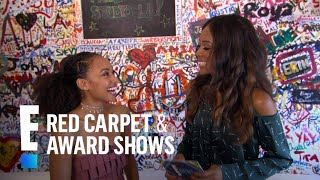 What Would Logan Browning Say to Beyonce? | E! Red Carpet & Award Shows