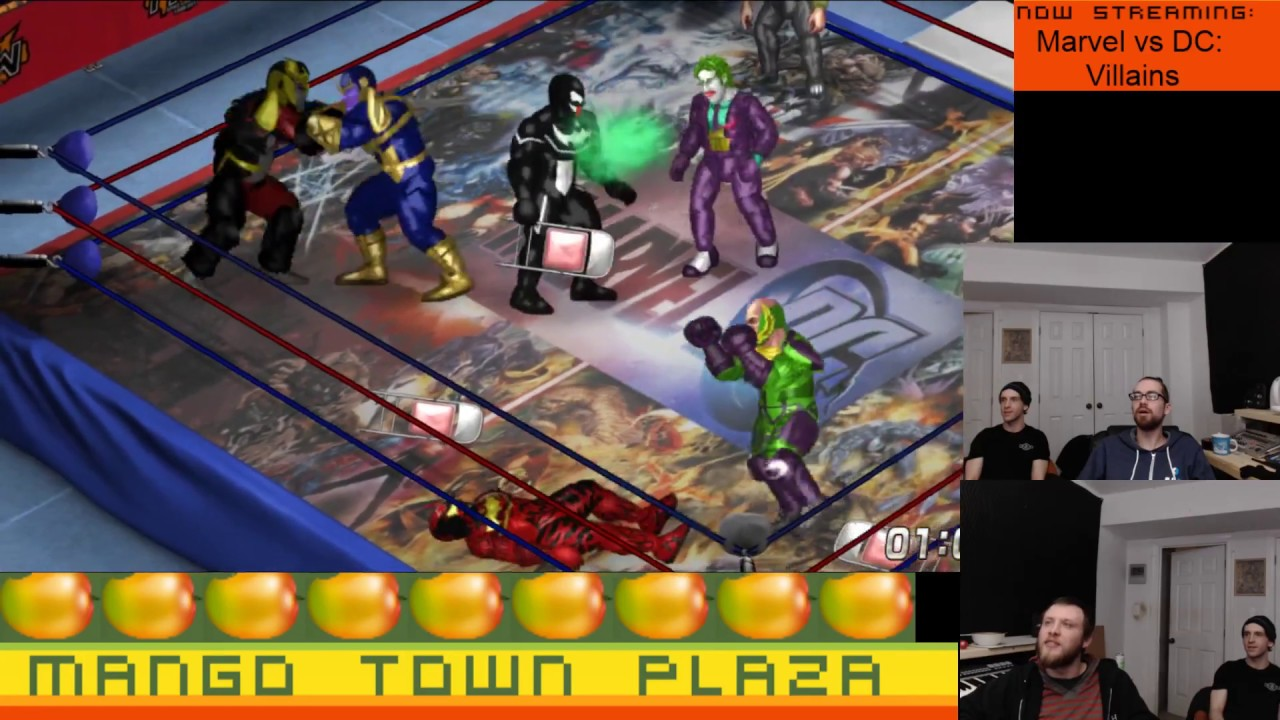 Marvel vs DC: Villains - Fire Pro Wrestling World Ep  23