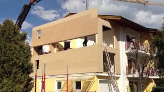 Hotel Victoria, Maishofen - Bauphase 2012 - Qualitätsarbeit v. Holzbau Höck Maishofen