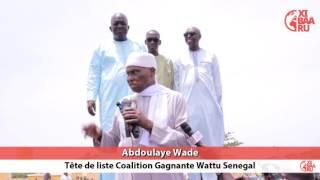 Abdoulaye Wade demande à la jeunesse d
