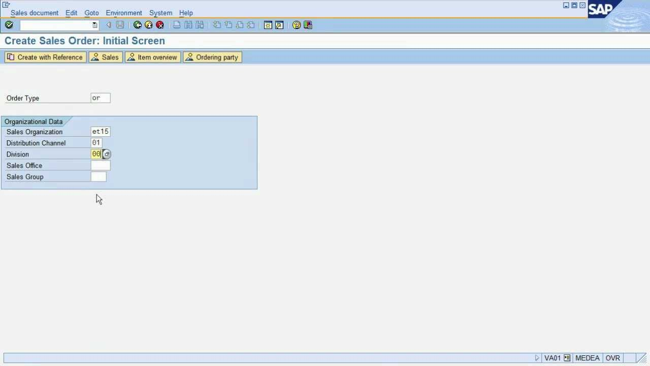 sap tutorial: order to cash process in sap erp - youtube